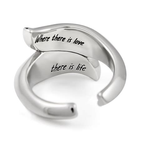 tzaro jewelry purity ring two leaves promise ring