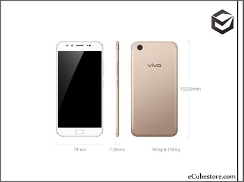 Handphone Vivo Smartphone vivo v5 plus original android smartphone gold and rosegold