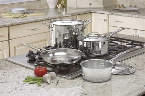 Oxone Classic Cookware Set cuisinart chef s classic stainless 7 cookware set review