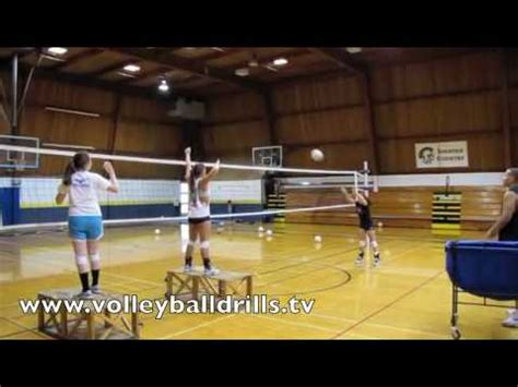 volleyball arm swing drills volleyball target setting and hitter arm swing warm up