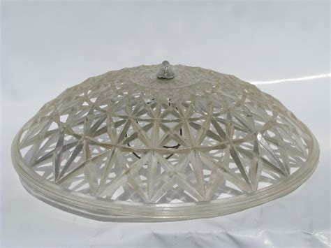 clip on ceiling light covers retro 1950 s vintage plastic clip on l shade for