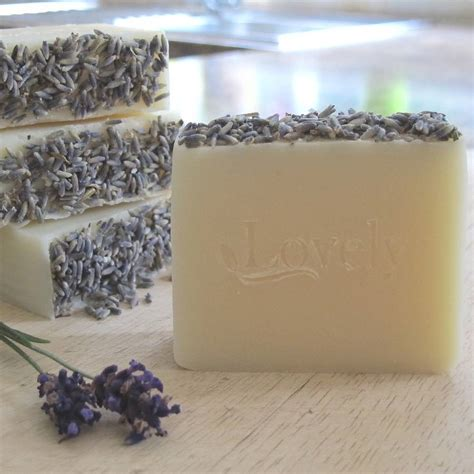 Lavender Handmade Soap - lavender handmade soap by lovely soap company