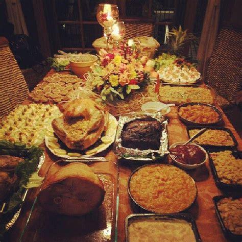 thanksgiving buffet table ideas thanksgiving pinterest