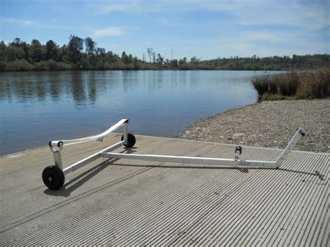 boat trailer wheels brisbane boat dolly with 26cm wheels by wheeleez 174 beachwheels