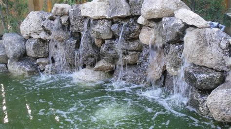 how to build a pool waterfall pond with waterfall quotes