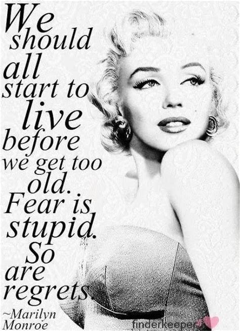 marilyn quote quotes about marilyn