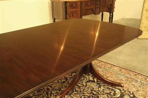 new high end solid mahogany duncan phyfe dining table seats 12 new high end solid mahogany duncan phyfe dining table seats 12