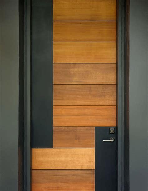 puerta de entrada madera puertas de entrada de dise 241 o moderno 49 modelos