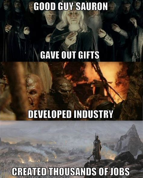 Orc Meme - good guy sauron