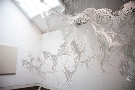 How To Make A Paper Sculpture - kojima paper cut sculpture design consultants