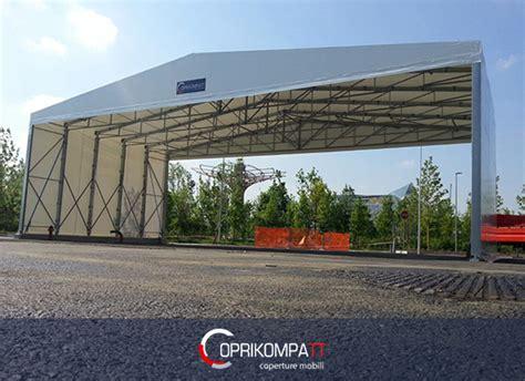 tettoia mobile tettoia mobile in pvc per capannoni e tunnel coprikompatt