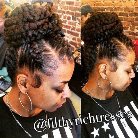 Black Wedding Hairstyles With Braids by 17 Best Ideas About Black Wedding Hairstyles On