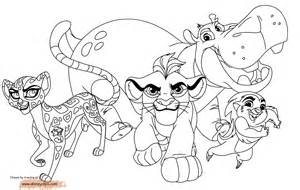 The Lion Guard Coloring Pages  GetColoringPagescom sketch template
