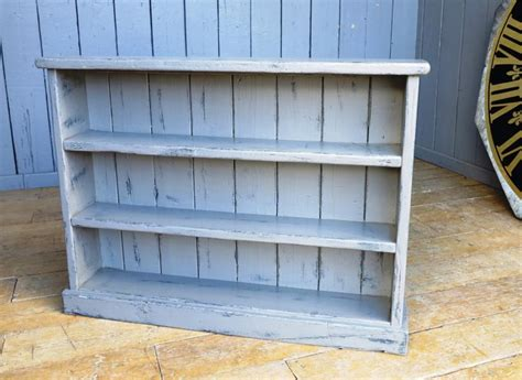 distressed bookshelves reclaimed plank painted distressed bookcase