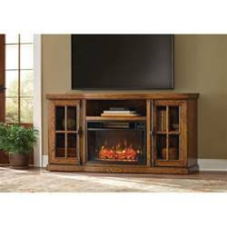 tv stand with fireplace home depot home decorators collection manor place 67 in tv stand w