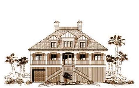 5 bedroom beach house plans beach style house plans 3884 square foot home 3 story 5 bedroom and 3 bath 2