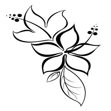tatouage fleurs d hibiscus galerie tatouage