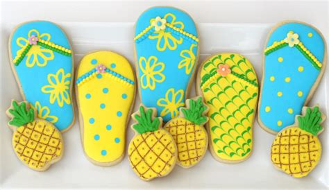 Summer Cookie Decorating Ideas by Summer Cookies Cookie Decorating Glorious Treats