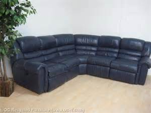 Navy Blue Reclining Sofa La Z Boy Recliners Sale Images