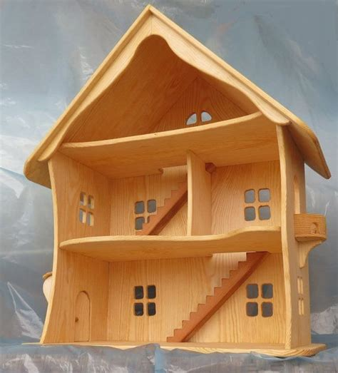 Handcrafted Doll Houses - best 25 wooden dollhouse ideas on diy
