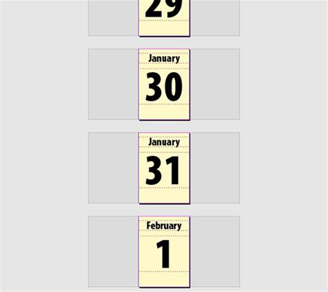 how to make a calendar in indesign create a page a day calendar in indesign indesignsecrets