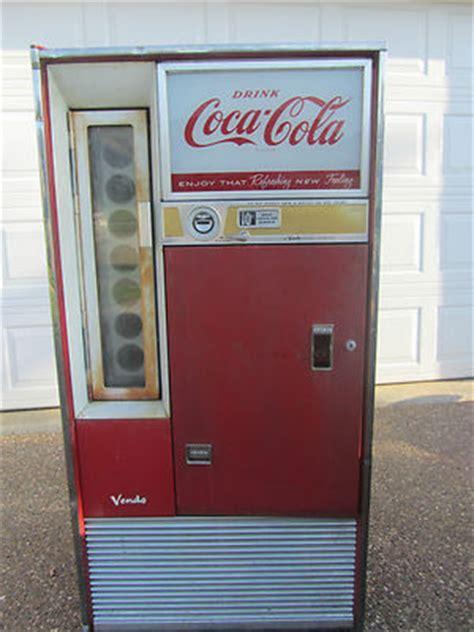 Sle Letter For Vendo Machine Vintage 60 S Vendo 63 H63d Coca Cola Coke Soda Machine Antique Cooler Antique Price Guide