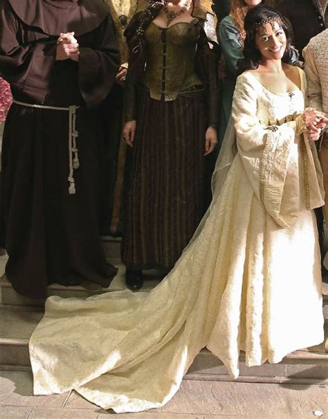 Lv Dress Cerry s wedding gown galavant once upon a costume