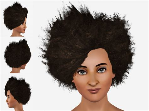 afro hairstyles sims 2 sims 4 cc afro newhairstylesformen2014 com