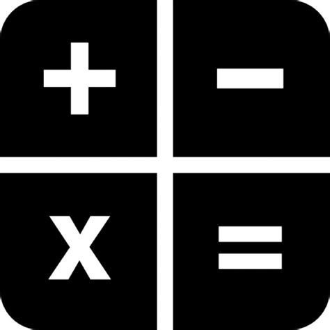 Blueprint Math by Calculator Keys Icons Free Download