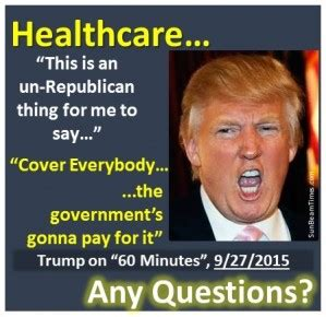 donald trump quotes on healthcare trump s health care plan just got scarier jtf