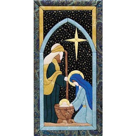 edredones navideños nativity scene quilt magic kit cuadros con material