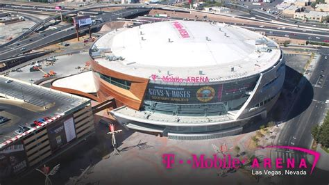 mobile arena official t mobile arena construction time lapse
