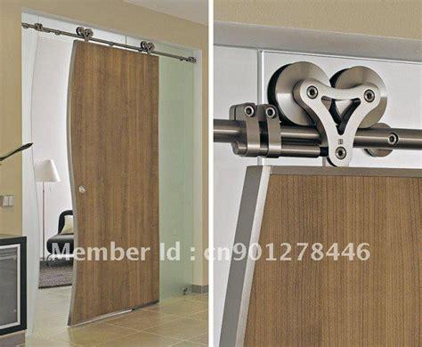 Barn Door Hardware Manufacturers Aliexpress Buy European Modern Sliding Barn Door Hardware For Wood Door Top Hanger Style