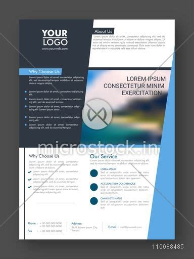 1 page flyer template professional one page business flyer banner template or