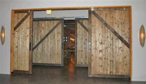 custom barn doors archives  warping patented wooden