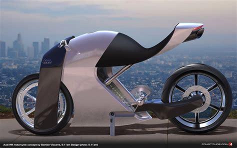 audi rr concept bike   glimpse   future