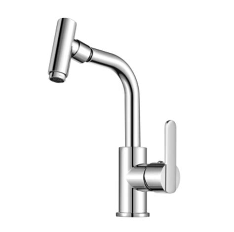 Simple Bathroom Faucets Simple Rotatable Single One Handle Bathroom Sink Faucet