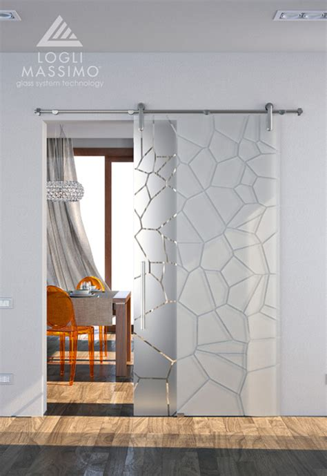 porte di vetro scorrevoli it luvern parete in vetro con porta scorrevole