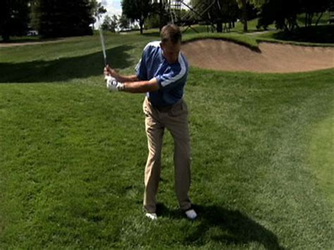 michael breed golf swing video michael breed golf tips getting out of the rough pga com