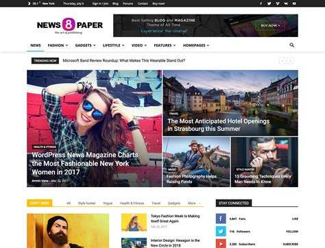 wordpress theme newspaper best 25 best news wordpress themes 2018 athemes
