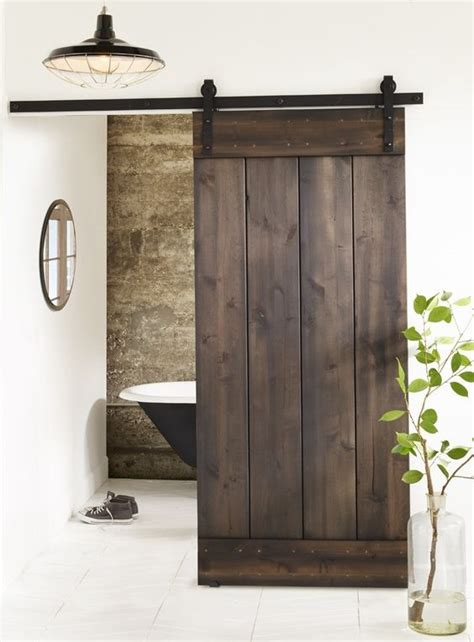 How To Make Your Own Barn Door Hardware Barn Doors Barns And Diy Kits On