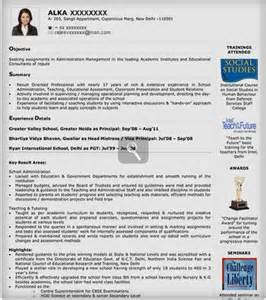 Visual Resume Exles by Visual Resume Sles Visual Resume Templates Visual Resume Format Naukri