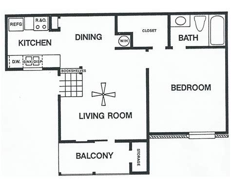 1 bedroom house floor plans floor plans one bedroom plan b sundance tx