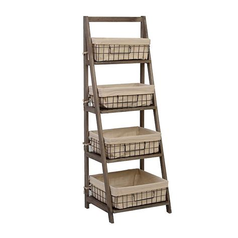 wooden ladder bookcase 17 best ideas about wooden ladder shelf on