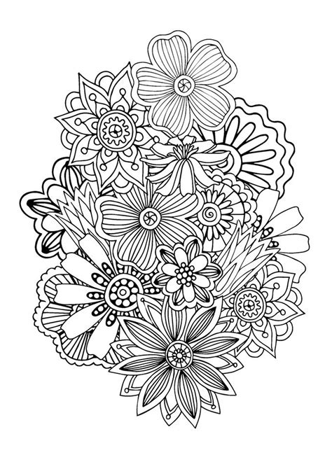 free printable coloring pages for adults zen zen anti stress coloring page abstract pattern