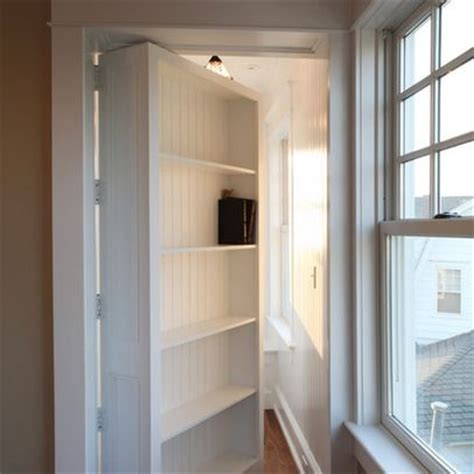 bookcase door plans bookshelf door kit