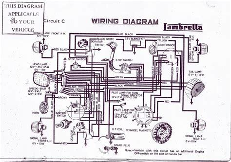 diagrams 15001072 lambretta wiring diagram lambretta