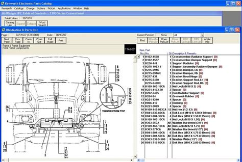 kenworth part numbers kenworth parts catalogue