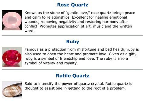 quartz ruby rutile qutile gemstone meaning