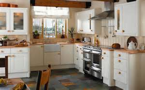 lovely What Is Best Paint For Kitchen Cabinets #10: country-kitchens--bandq-kitchen-296913.jpg